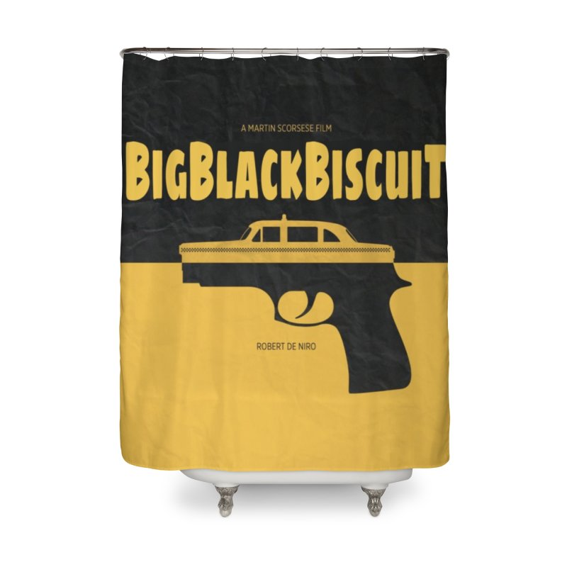 UBER DRIVER Home Shower Curtain by BigBlackBiscuit's Artist Shop
