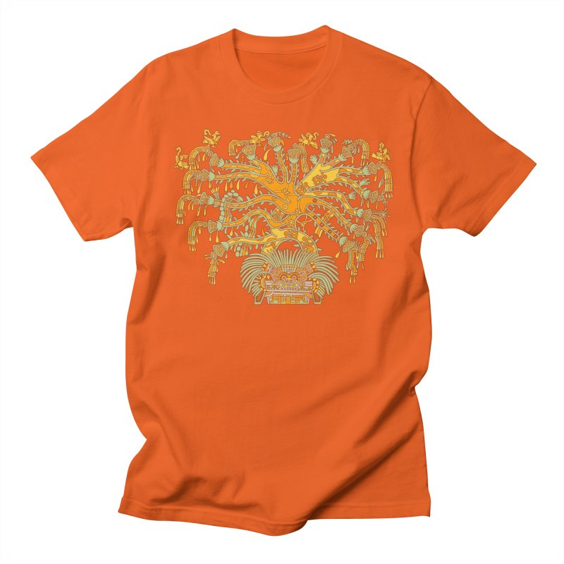 Teotihuacan Tree Women's T-Shirt by Big Red Hair's Artist Shop