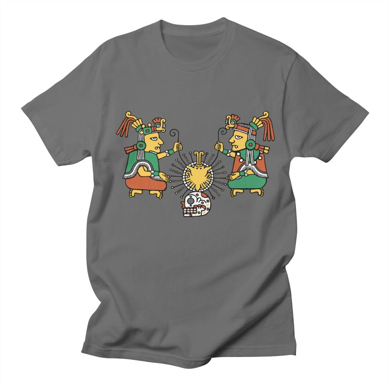 The Dual Gods Men's T-Shirt by Big Red Hair's Artist Shop