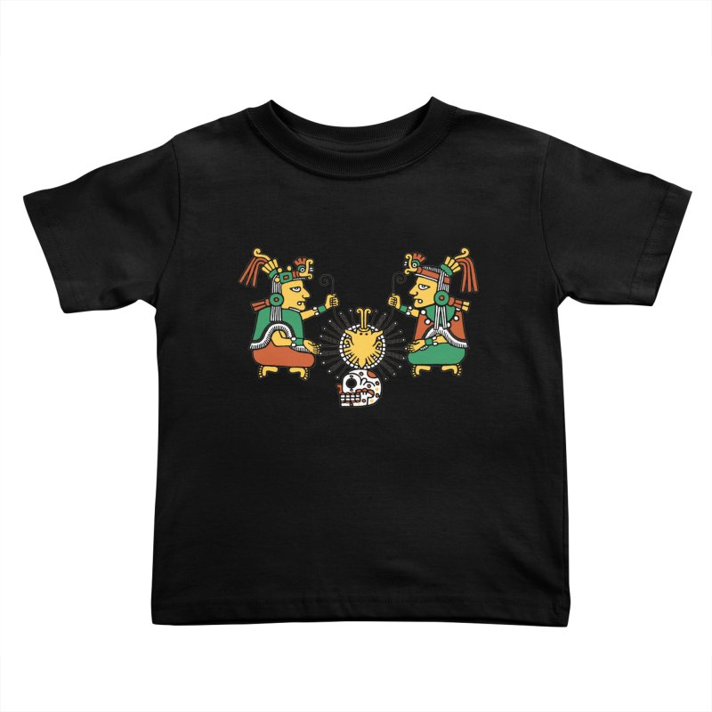The Dual Gods Kids Toddler T-Shirt by Big Red Hair's Artist Shop