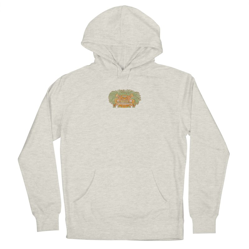 Teotihuacan Owl Women's Pullover Hoody by Big Red Hair's Artist Shop