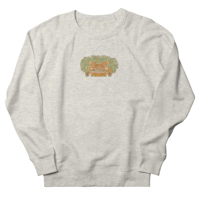 Teotihuacan Owl Women's Sweatshirt by Big Red Hair's Artist Shop