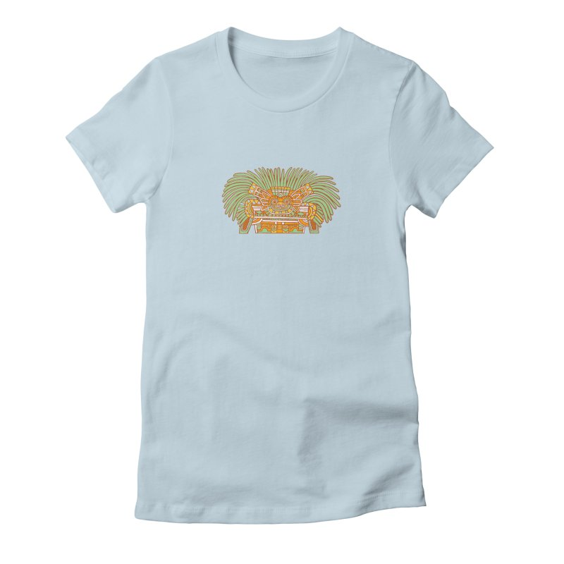 Teotihuacan Owl Women's T-Shirt by Big Red Hair's Artist Shop