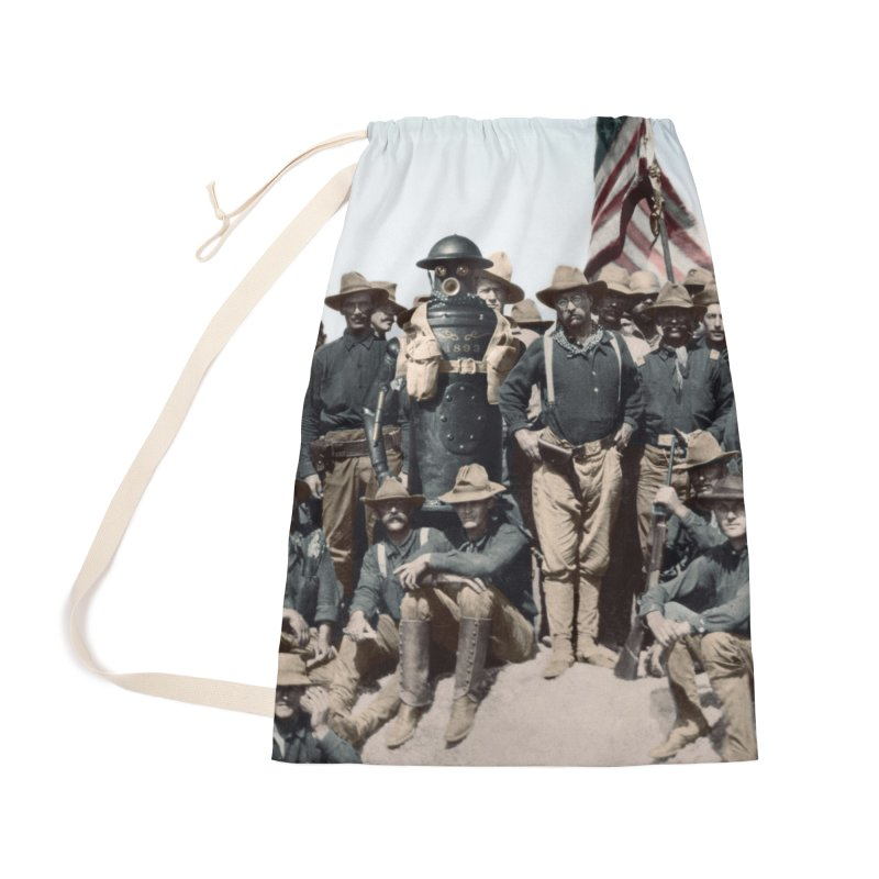 Boilerplate and the Rough Riders Accessories Bag by Big Red Hair's Artist Shop
