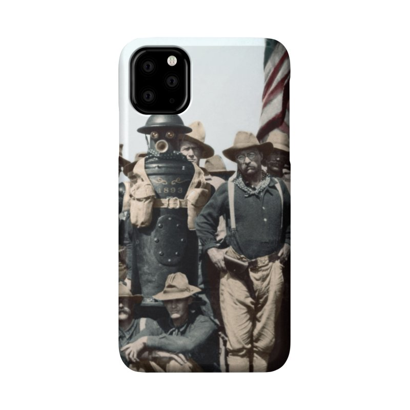 Boilerplate and the Rough Riders Accessories Phone Case by Big Red Hair's Artist Shop