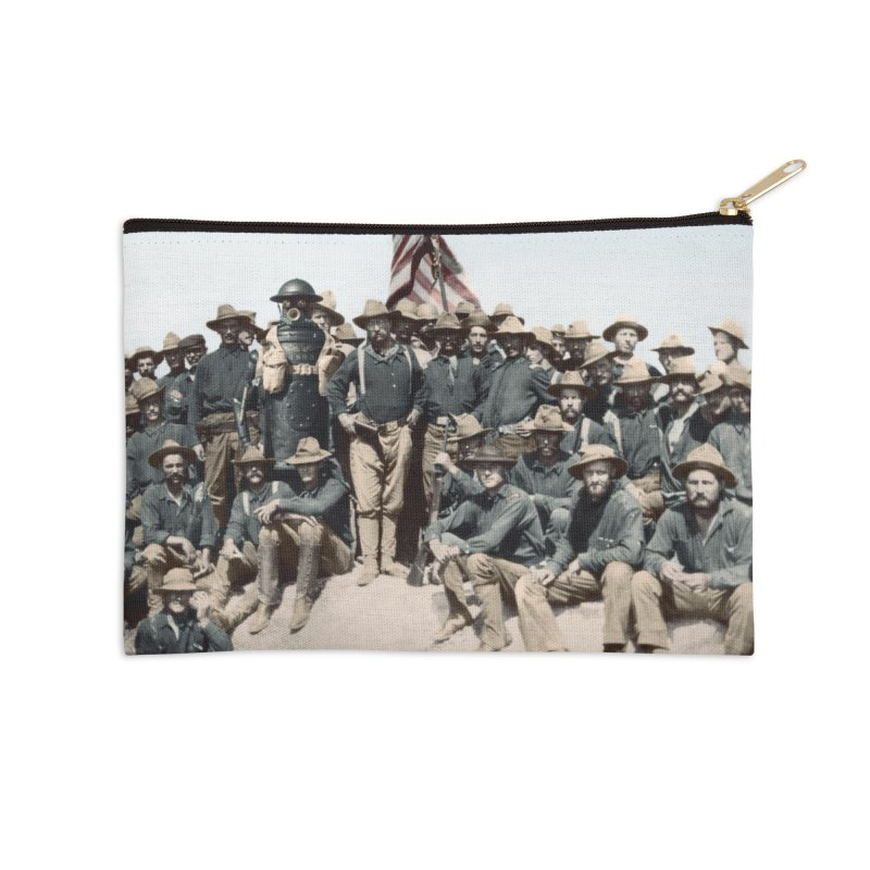 Boilerplate and the Rough Riders Accessories Zip Pouch by Big Red Hair's Artist Shop