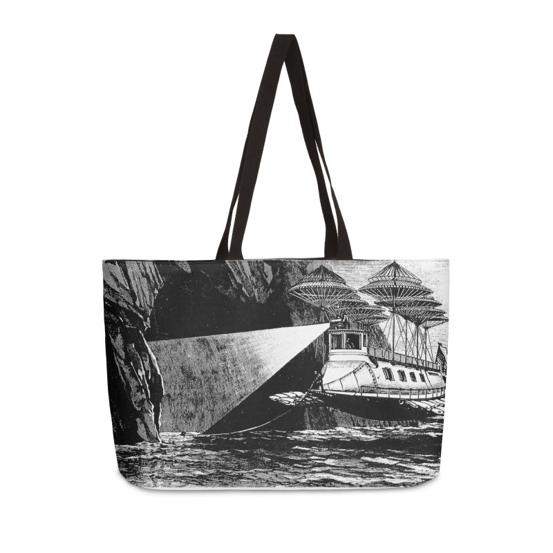 Into the Dark - A Frank Reade Adventure Accessories Weekender Bag Bag by Big Red Hair's Artist Shop