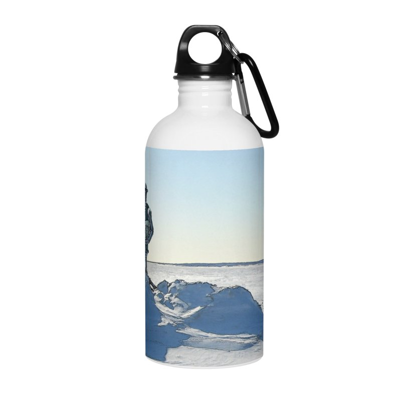 Boilerplate at the Bottom of the World Accessories Water Bottle by Big Red Hair's Artist Shop