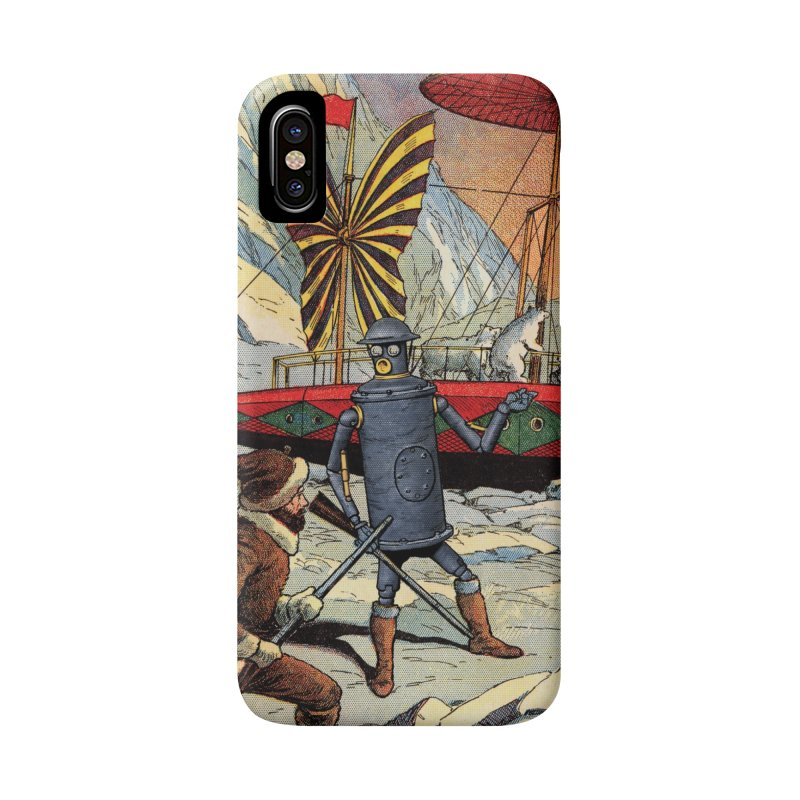 Boilerplate and the Polar Bears in iPhone X / XS Phone Case Slim by Big Red Hair's Artist Shop
