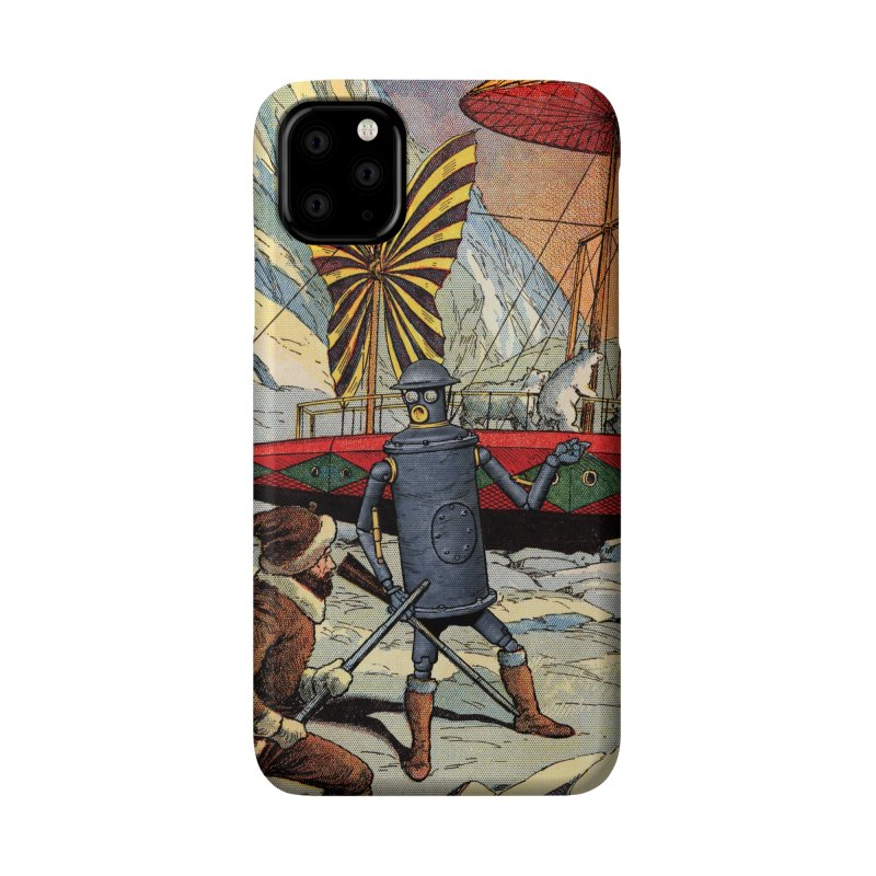 Boilerplate and the Polar Bears Accessories Phone Case by Big Red Hair's Artist Shop