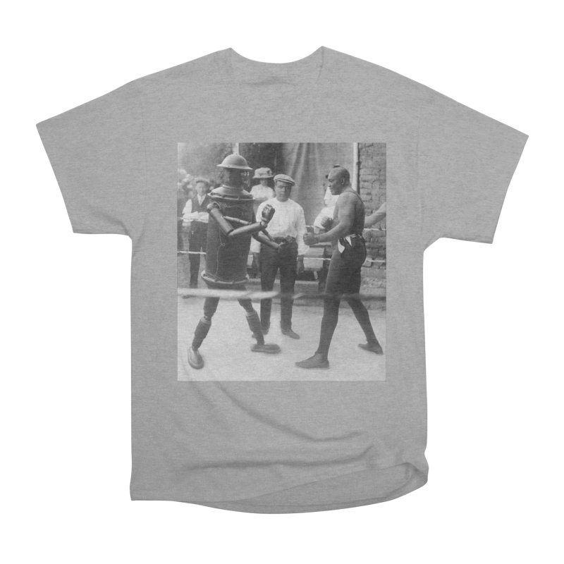 Boilerplate Spars with Jack Johnson Men's Heavyweight T-Shirt by Big Red Hair's Artist Shop