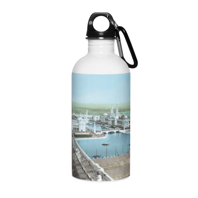 Boilerplate at the Chicago World's Fair Accessories Water Bottle by Big Red Hair's Artist Shop