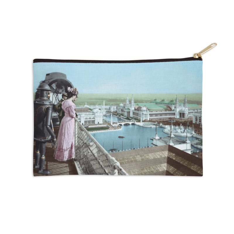 Boilerplate at the Chicago World's Fair Accessories Zip Pouch by Big Red Hair's Artist Shop