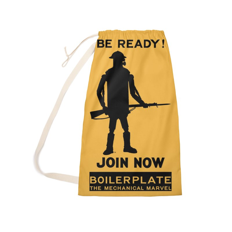 Boilerplate Army Recruiting Poster Accessories Laundry Bag Bag by Big Red Hair's Artist Shop