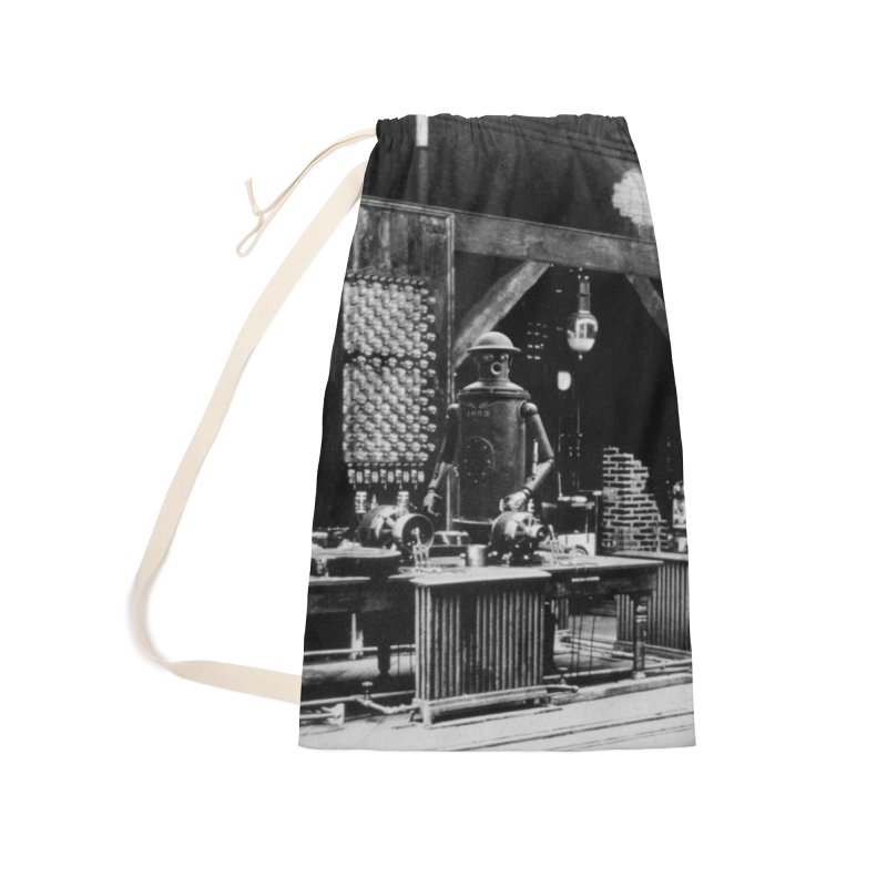 Boilerplate in the Laboratory Accessories Laundry Bag Bag by Big Red Hair's Artist Shop