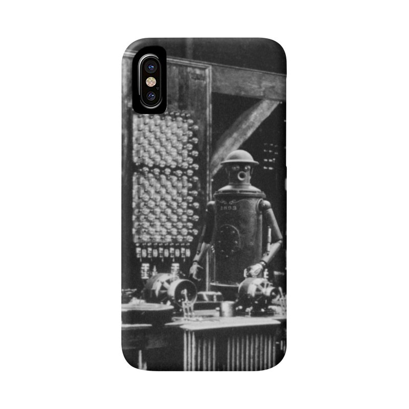 Boilerplate in the Laboratory Accessories Phone Case by Big Red Hair's Artist Shop