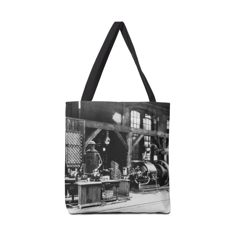 Boilerplate in the Laboratory Accessories Tote Bag Bag by Big Red Hair's Artist Shop