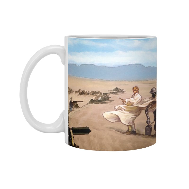 Boilerplate and Lawrence of Arabia Accessories Mug by Big Red Hair's Artist Shop