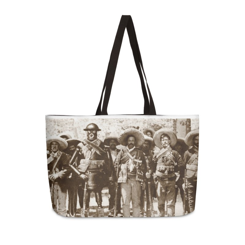 Boilerplate and Pancho Villa in Weekender Bag by Big Red Hair's Artist Shop