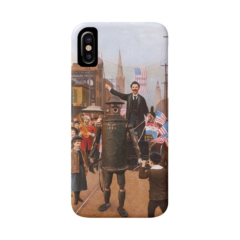 Boilerplate and the Presidential Parade Accessories Phone Case by Big Red Hair's Artist Shop