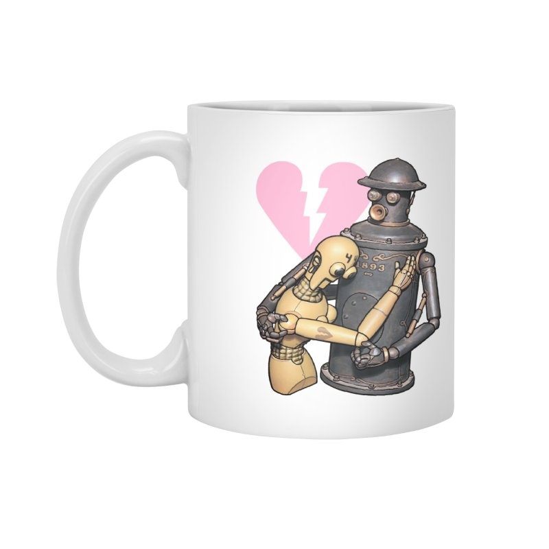 Boilerplate: Robot Romance Accessories Mug by Big Red Hair's Artist Shop