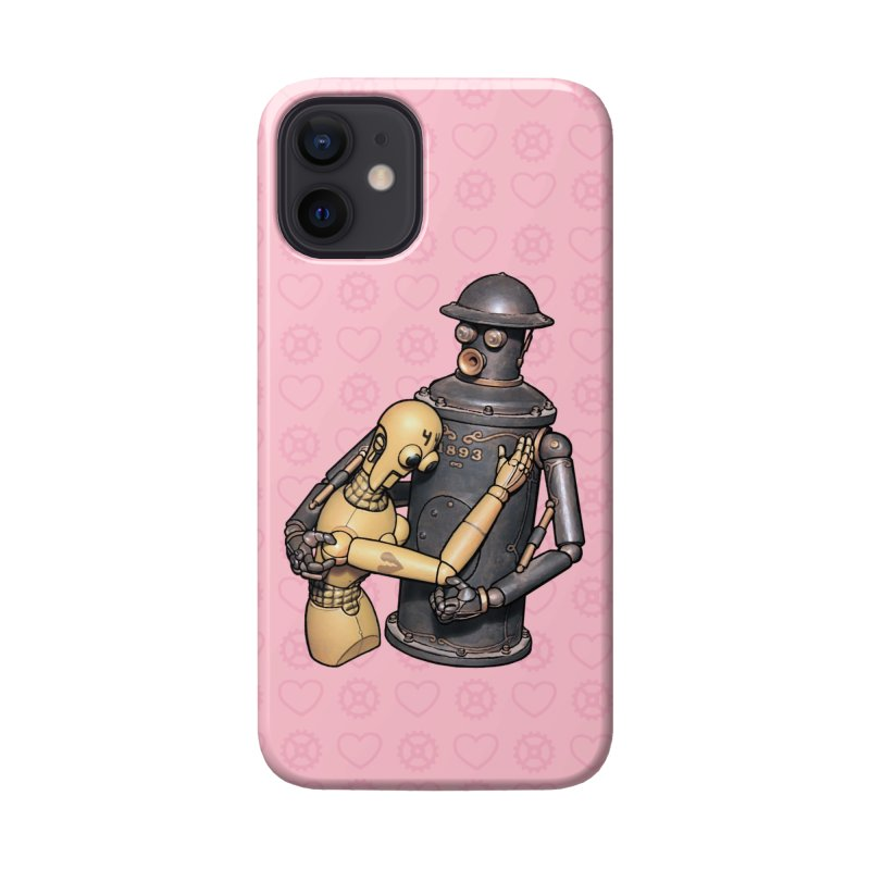 Boilerplate: Robot Romance Accessories Phone Case by Big Red Hair's Artist Shop