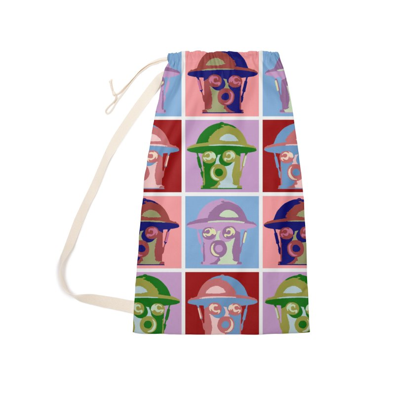 Boilerplate After Andy Warhol Accessories Laundry Bag Bag by Big Red Hair's Artist Shop