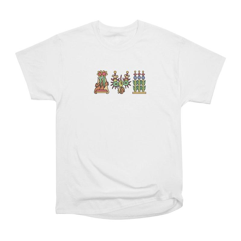 Aztec Empire: Symbol Logo Women's Heavyweight Unisex T-Shirt by Big Red Hair's Artist Shop
