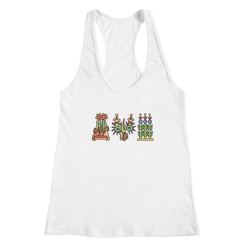 Aztec Empire: Symbol Logo Women's Racerback Tank by Big Red Hair's Artist Shop