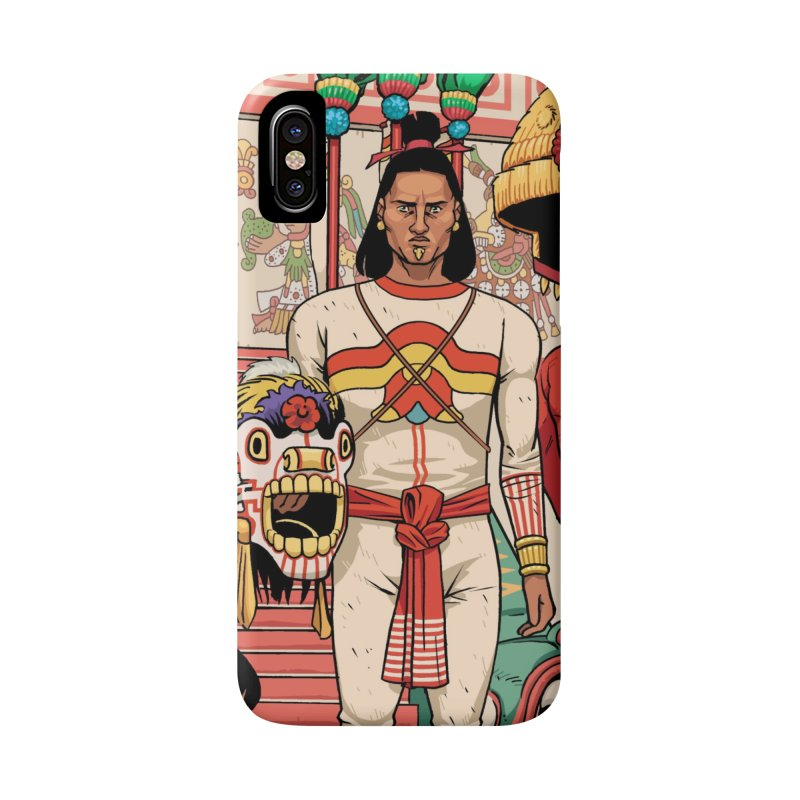 Aztec Empire: Mexica Accessories Phone Case by Big Red Hair's Artist Shop