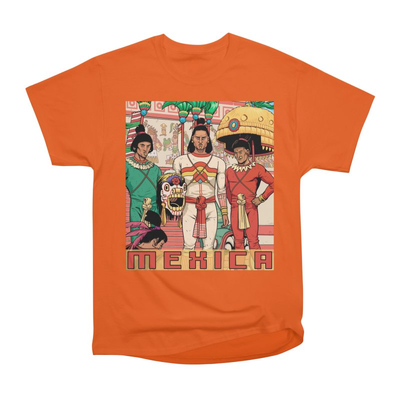 Aztec Empire: Mexica Men's Heavyweight T-Shirt by Big Red Hair's Artist Shop