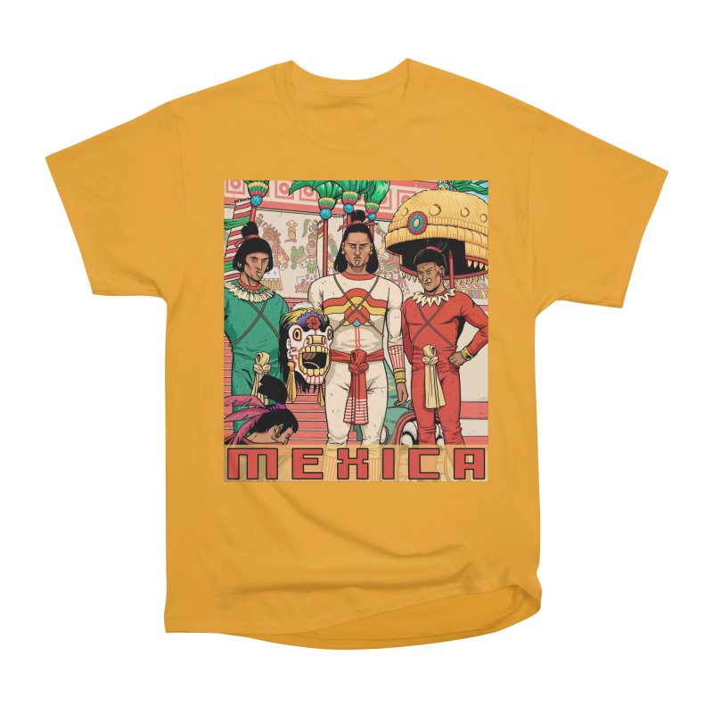 Aztec Empire: Mexica Men's Heavyweight T-Shirt by Big Red Hair's Artist Shop