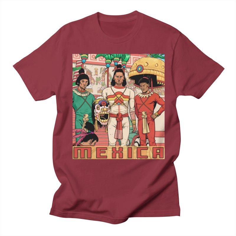 Aztec Empire: Mexica Women's Regular Unisex T-Shirt by Big Red Hair's Artist Shop
