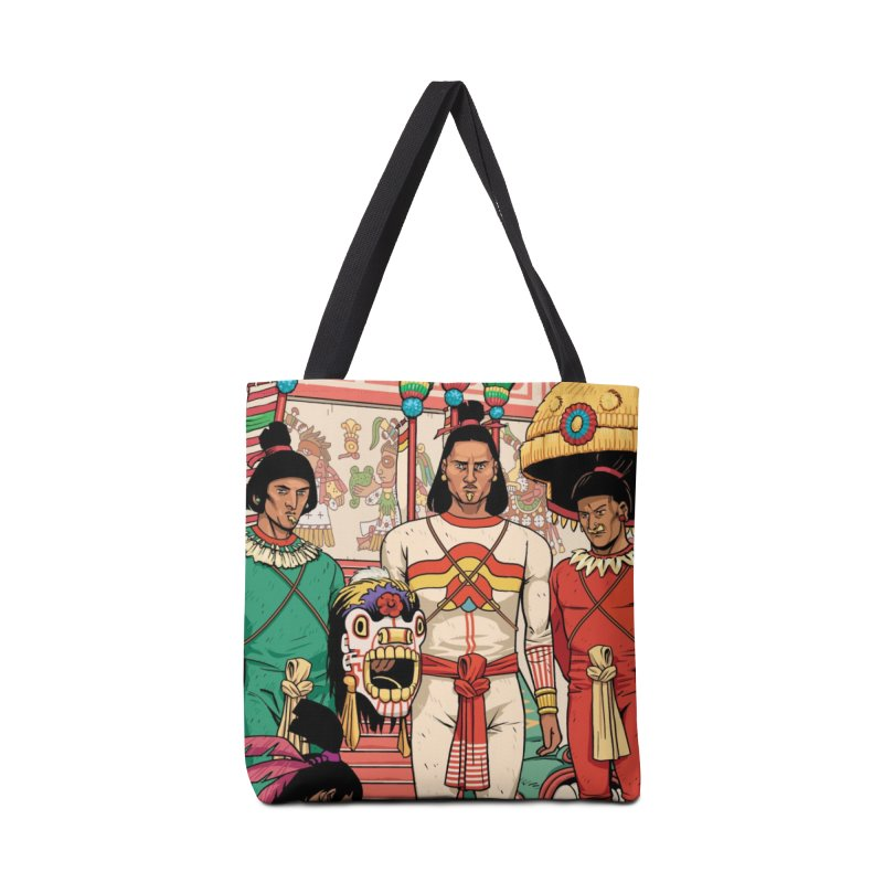 Aztec Empire: Mexica Accessories Tote Bag Bag by Big Red Hair's Artist Shop