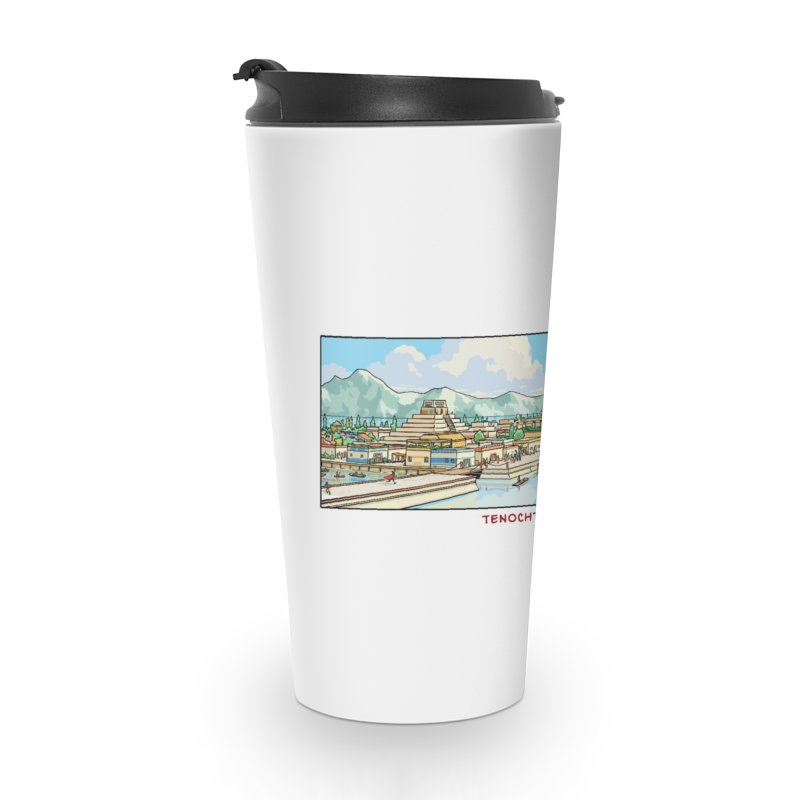 Tenochtitlan Accessories Mug by Big Red Hair's Artist Shop
