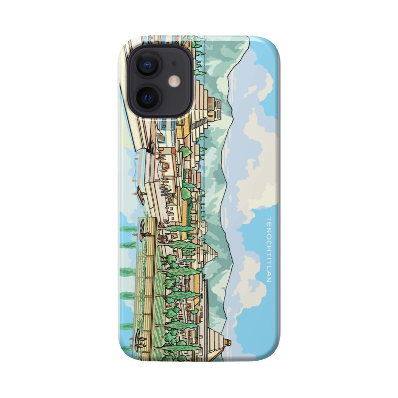 Tenochtitlan Accessories Phone Case by Big Red Hair's Artist Shop