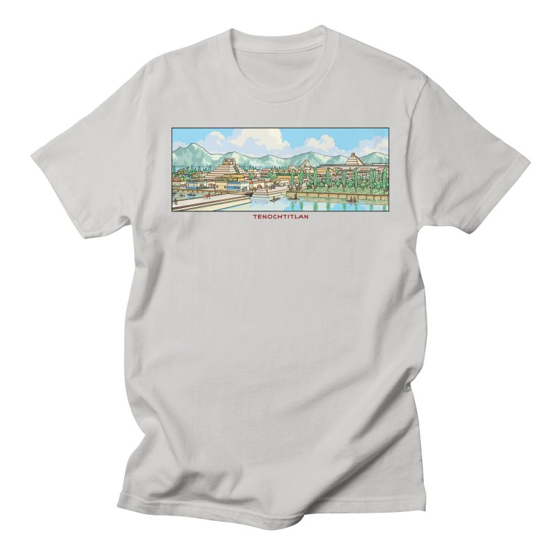 Tenochtitlan Men's T-Shirt by Big Red Hair's Artist Shop