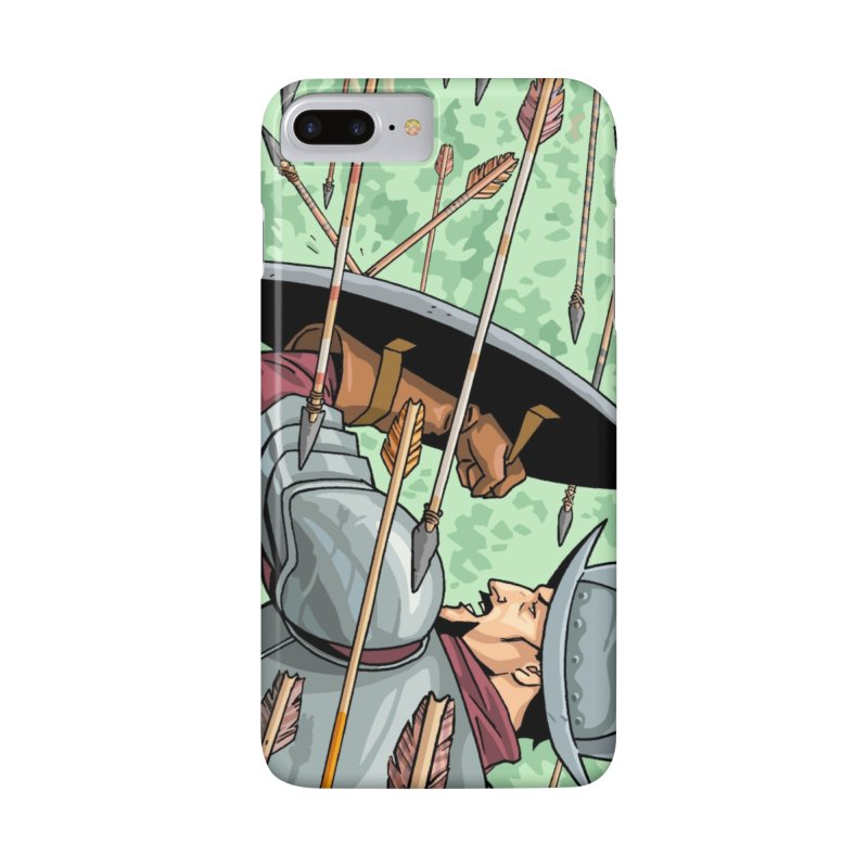 Cortes Attacked by Arrows Accessories Phone Case by Big Red Hair's Artist Shop