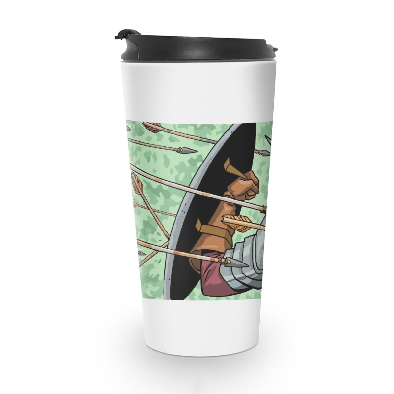 Cortes Attacked by Arrows Accessories Mug by Big Red Hair's Artist Shop