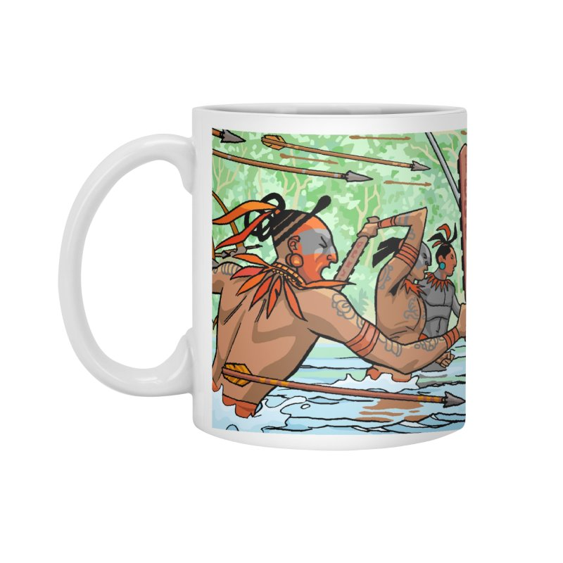 Tabasco Fight Accessories Mug by Big Red Hair's Artist Shop