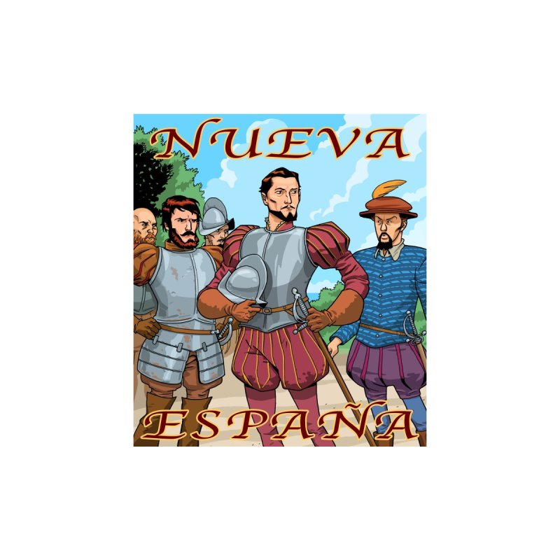 Aztec Empire: Cortes T-shirt Men's T-Shirt by Big Red Hair's Artist Shop