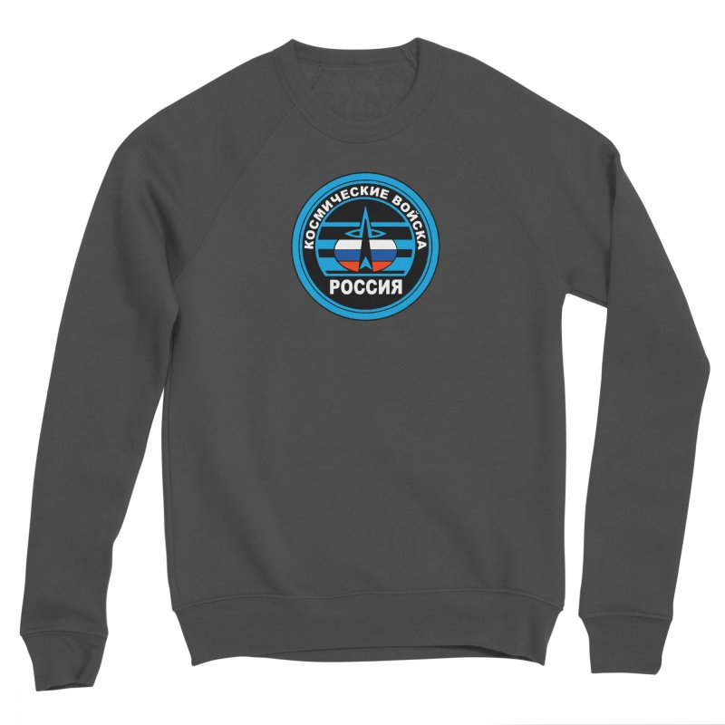 Russia Space Force Women's Sponge Fleece Sweatshirt by Big Red Hair's Artist Shop