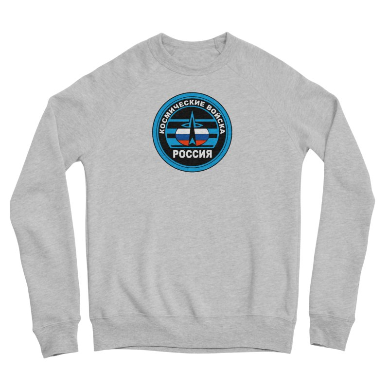 Russia Space Force Men's Sponge Fleece Sweatshirt by Big Red Hair's Artist Shop