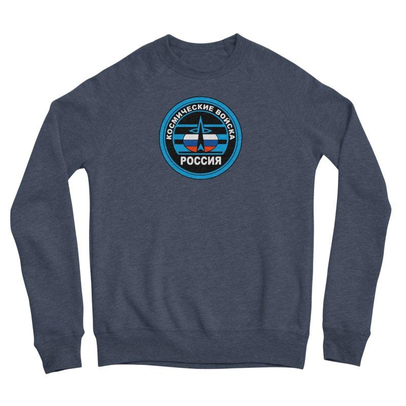 Russia Space Force Men's Sponge Fleece Sweatshirt by Big Red Hair's Artist Shop
