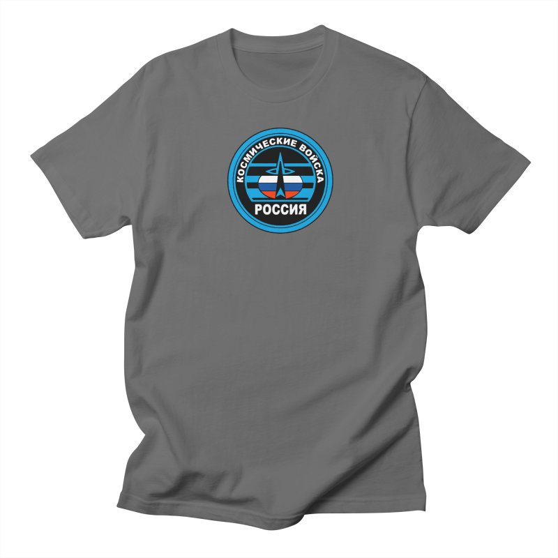 Russia Space Force Men's T-Shirt by Big Red Hair's Artist Shop