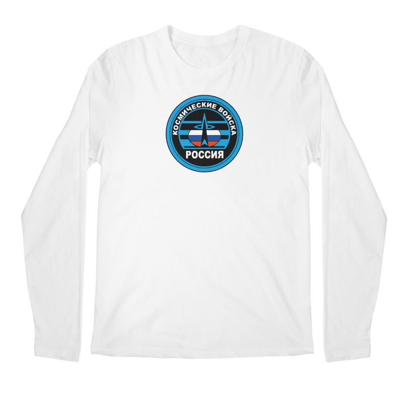 Russia Space Force Men's Regular Longsleeve T-Shirt by Big Red Hair's Artist Shop