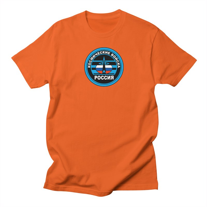Russia Space Force Women's Regular Unisex T-Shirt by Big Red Hair's Artist Shop