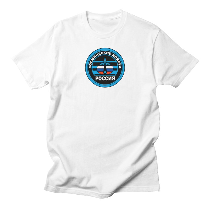 Russia Space Force Women's Regular Unisex T-Shirt by Big Red Hair's Artist Shop