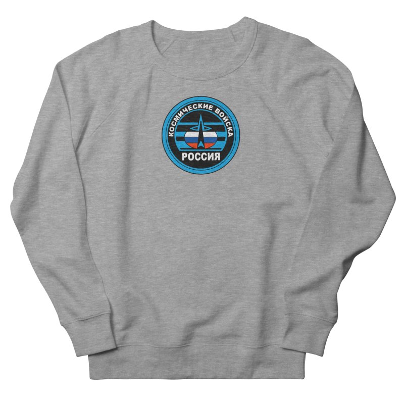 Russia Space Force Women's French Terry Sweatshirt by Big Red Hair's Artist Shop