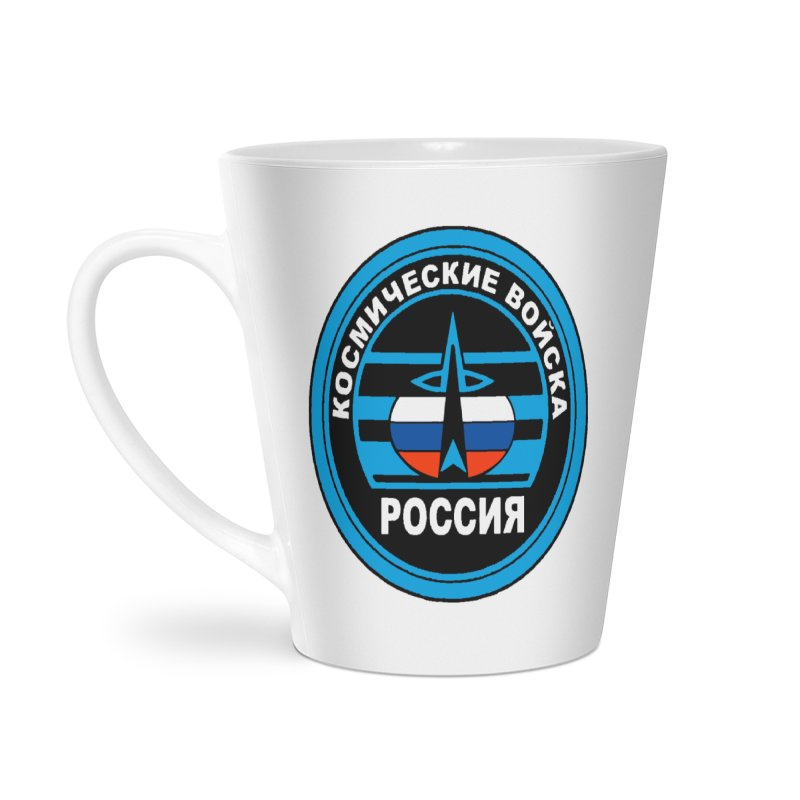 Russia Space Force Accessories Latte Mug by Big Red Hair's Artist Shop
